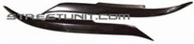 Изображение Black ABS Plastic Headlight Eyelids