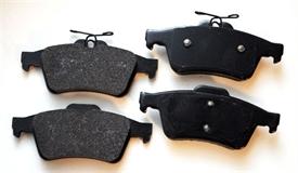 Изображение Semi-Metallic задние тормозные колодки